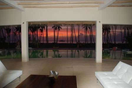 VILLA PLAYA Luxurious Villa of 1000m2 on a 3000m2 land situated at the Coson Bay, on one of the most beautiful beach of Las Terennas, in a prestigious residential