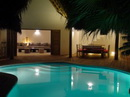 Casa Little Banana House, pool, terrace, bar, kitchen.livingroom, bedroom, bathroom. (8 - 12 people)