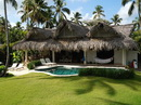 Casa Inca Exceptionally situated, a Caribbean style villa, directly on the most beautiful beach of Las Terrenas. Casa Inca is 170 m2, with a wonderful swimming-pool,
