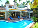 Casa Inca Exceptionally situated, a Caribbean style villa, directly on the most beautiful beach of Las Terrenas. Casa Inca is 170 m2, with a wonderful swimming-pool
